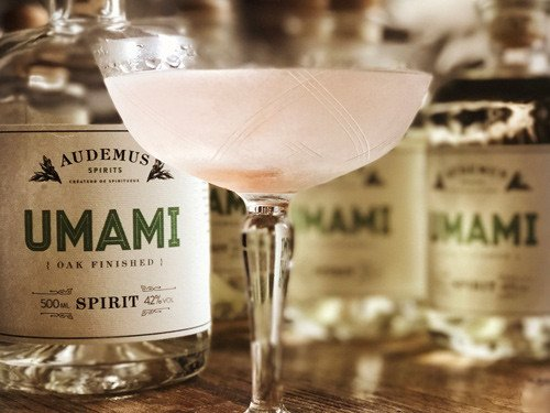 pink pepper gin audemus spirits umami